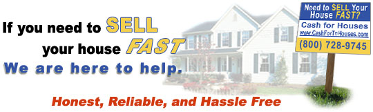 Sell Your House Fast - Cash For Houses